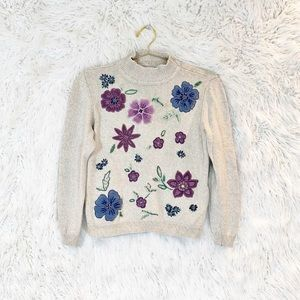 Vintage Alfred Dunner Embroidered Sweater